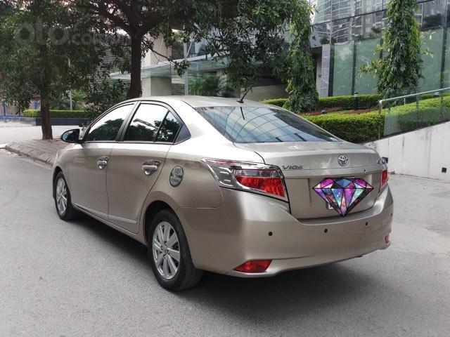 Ô Tô Thủ Đô bán xe Toyota Vios 1.5 At SX 2016, màu ghi vàng 459 triệu (4)