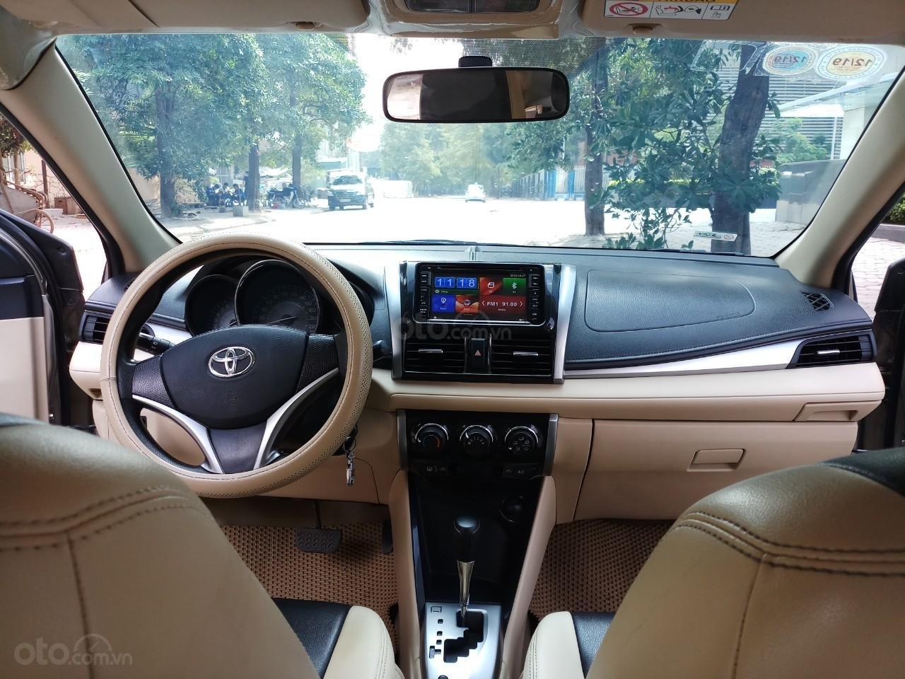 Ô Tô Thủ Đô bán xe Toyota Vios 1.5 At SX 2016, màu ghi vàng 459 triệu (7)