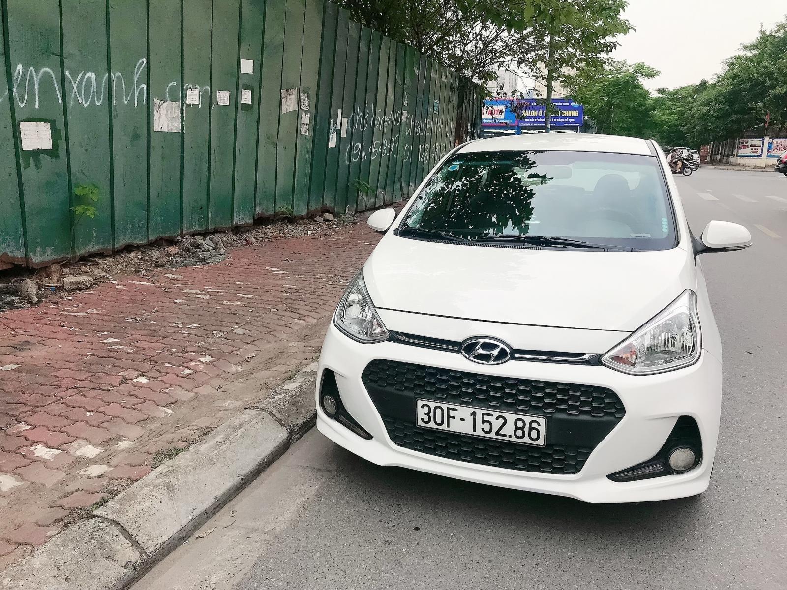Bán Hyundai Grand i10 MT 1.2 full sản xuất 2018, màu trắng, xe nhập (4)