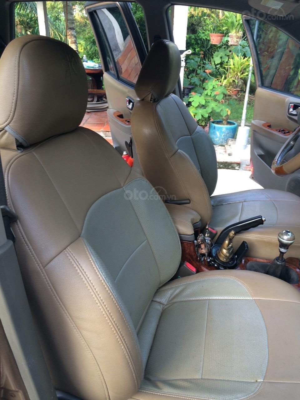 Bán Hyundai Santa Fe sản xuất năm 2003, màu nâu, nhập khẩu nguyên chiếc, giá 250tr (8)