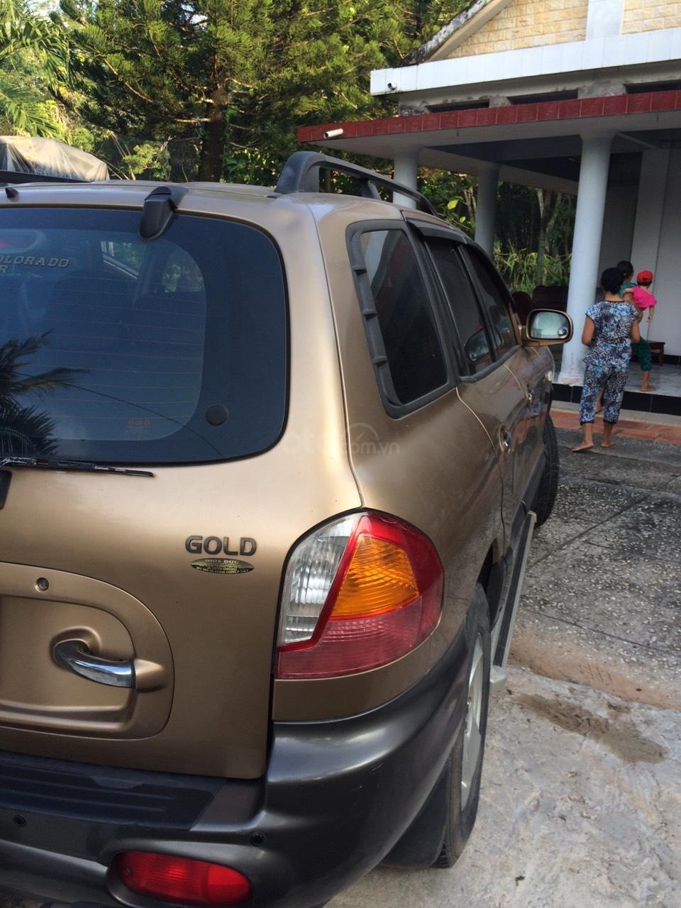 Bán Hyundai Santa Fe sản xuất năm 2003, màu nâu, nhập khẩu nguyên chiếc, giá 250tr (10)