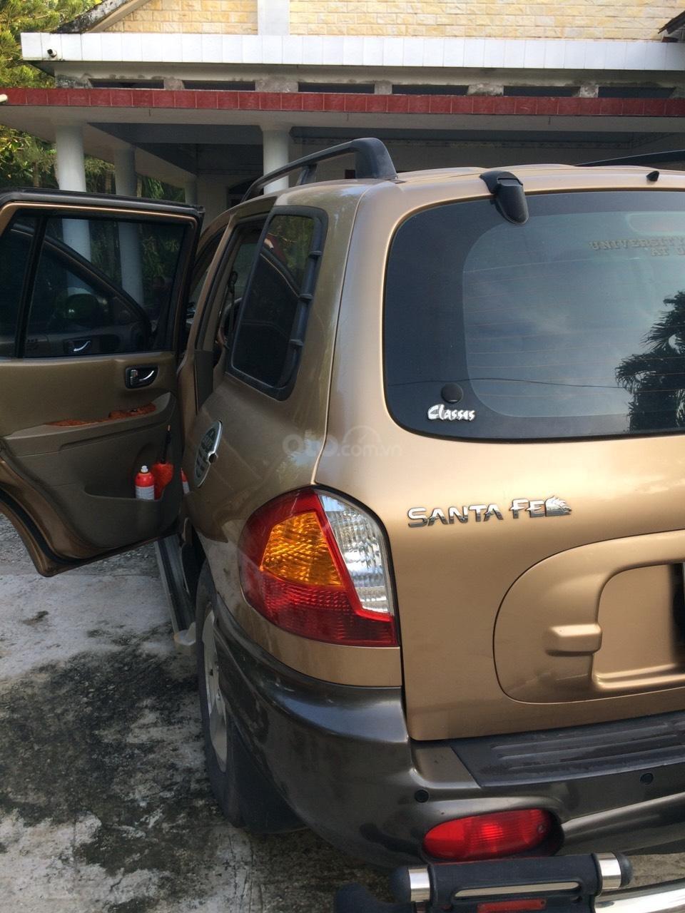 Bán Hyundai Santa Fe sản xuất năm 2003, màu nâu, nhập khẩu nguyên chiếc, giá 250tr (11)
