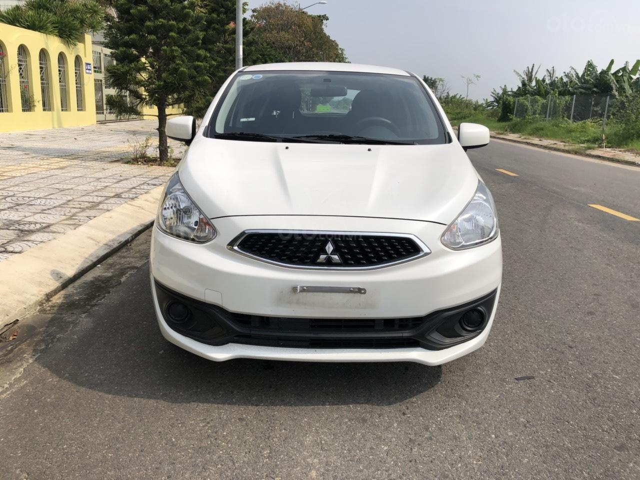 Cần bán gấp xe Mitsubishi Mirage năm 2018, màu trắng, nhập khẩu nguyên chiếc, LH: 0899877765 - 0935284855 (1)