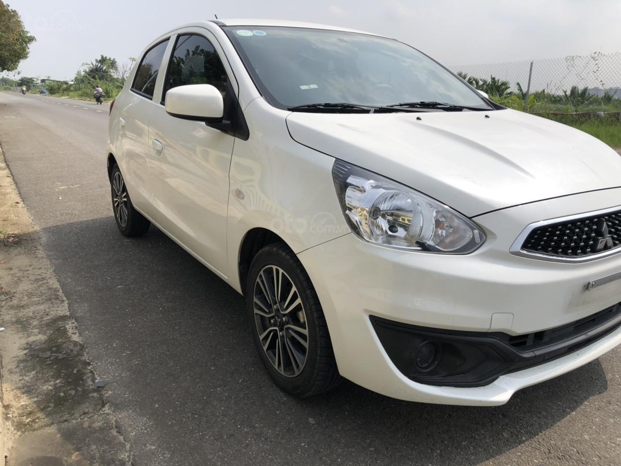 Cần bán gấp xe Mitsubishi Mirage năm 2018, màu trắng, nhập khẩu nguyên chiếc, LH: 0899877765 - 0935284855 (3)