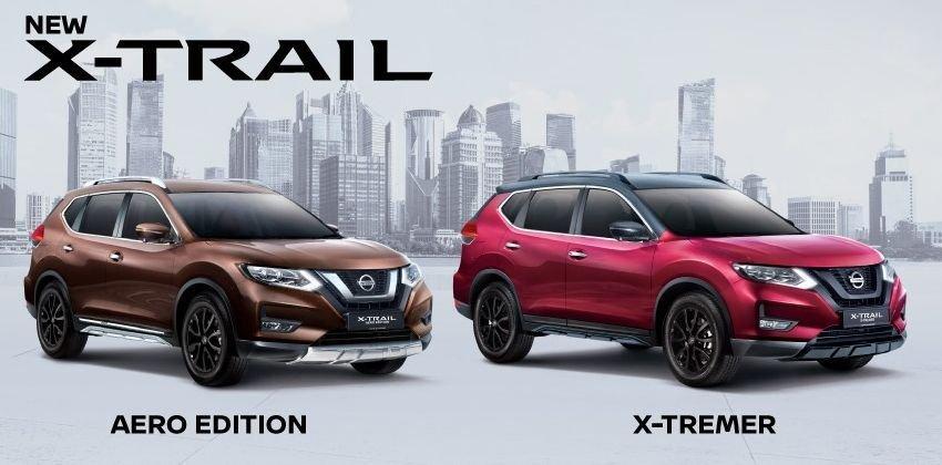 Xế độ Nissan X-Trail Aero Edition và X-Tremer ra mắt