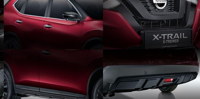 Xế độ Nissan X-Trail Aero Edition và X-Tremer thể thao hơn