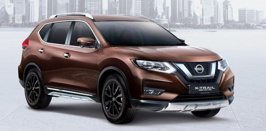 Xế độ Nissan X-Trail Aero Edition và X-Tremer thể thao hơn hẳn