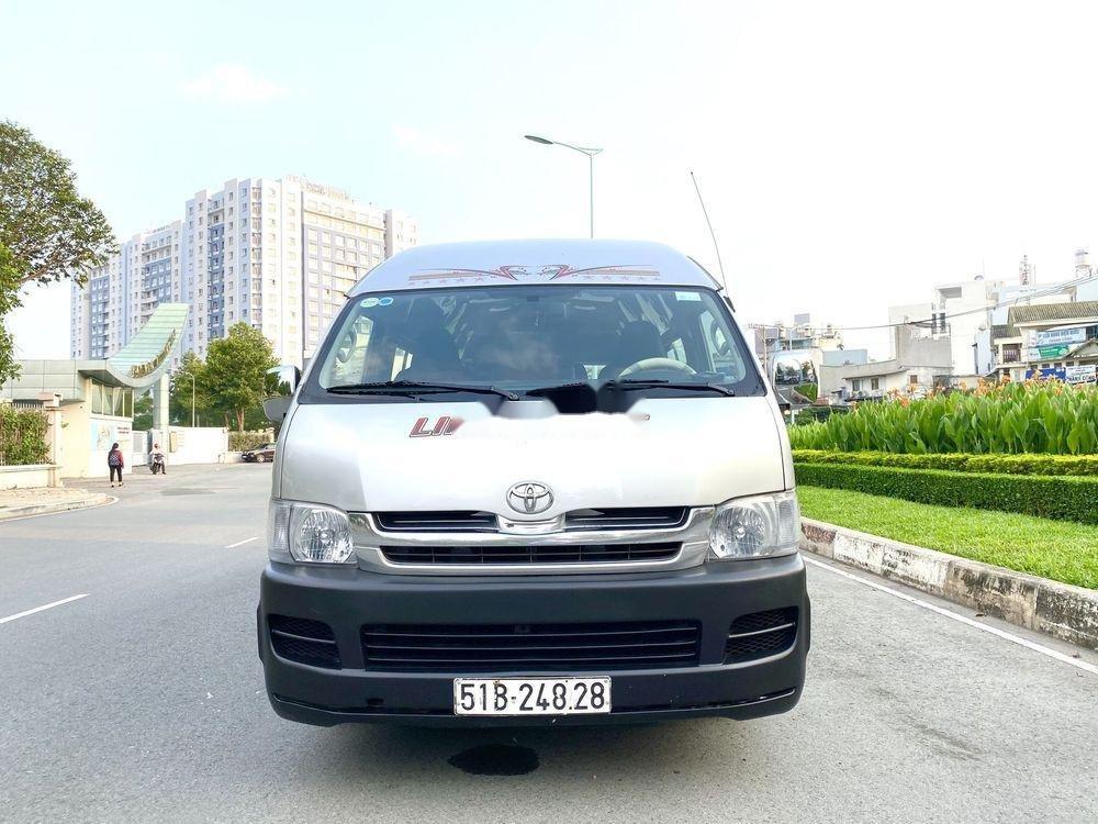 Bán Toyota Hiace năm sản xuất 2009, màu bạc, nhập khẩu (1)
