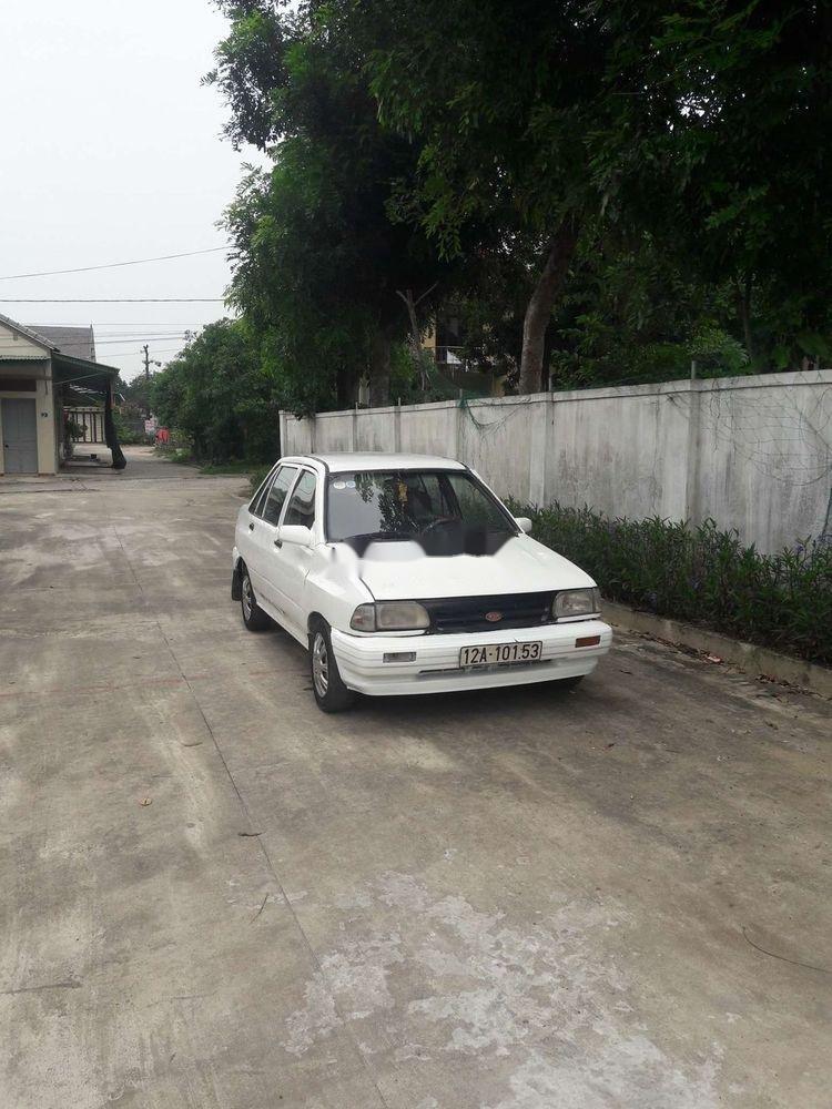 Cần bán Kia Pride sản xuất 1996, màu trắng, xe nhập, giá 28tr (2)