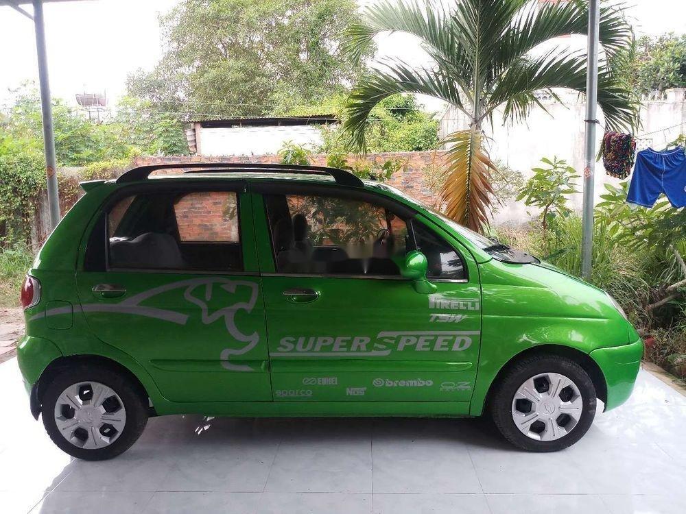 Cần bán lại xe Daewoo Matiz 2005, màu xanh lục xe gia đình (2)