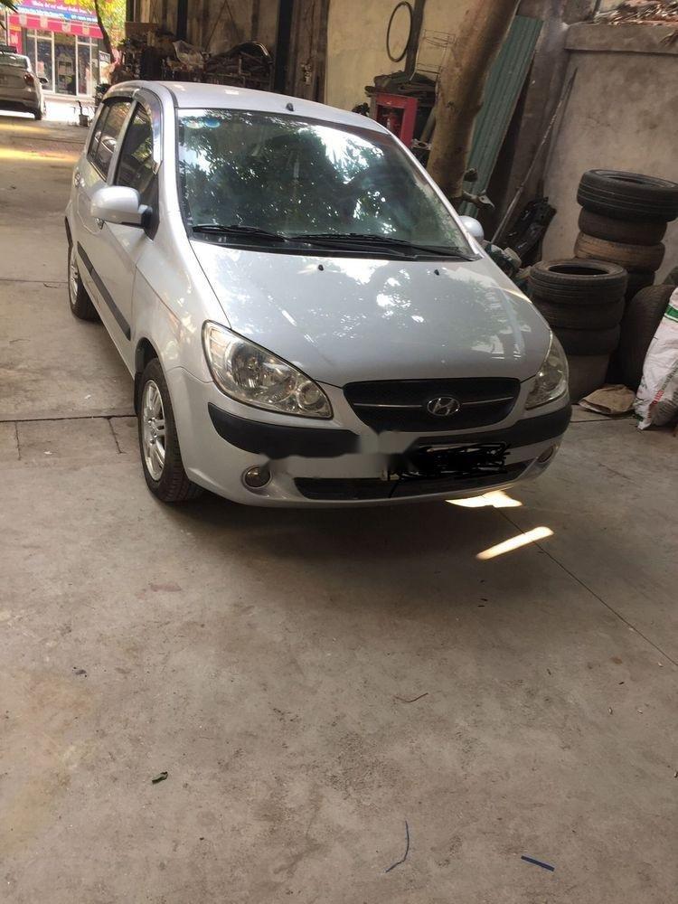 Cần bán Hyundai Getz sản xuất 2010, màu bạc, nhập khẩu nguyên chiếc, giá tốt (1)