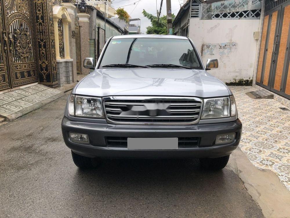 Bán Toyota Land Cruiser năm sản xuất 2006, màu bạc số sàn (11)