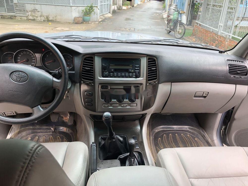 Bán Toyota Land Cruiser năm sản xuất 2006, màu bạc số sàn (9)