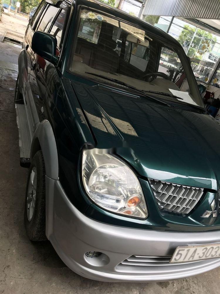 Bán xe cũ Mitsubishi Jolie đời 2004, màu xanh lục (2)