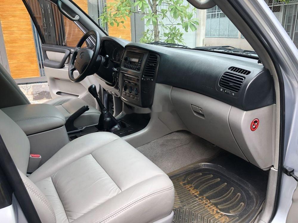 Bán Toyota Land Cruiser năm sản xuất 2006, màu bạc số sàn (5)