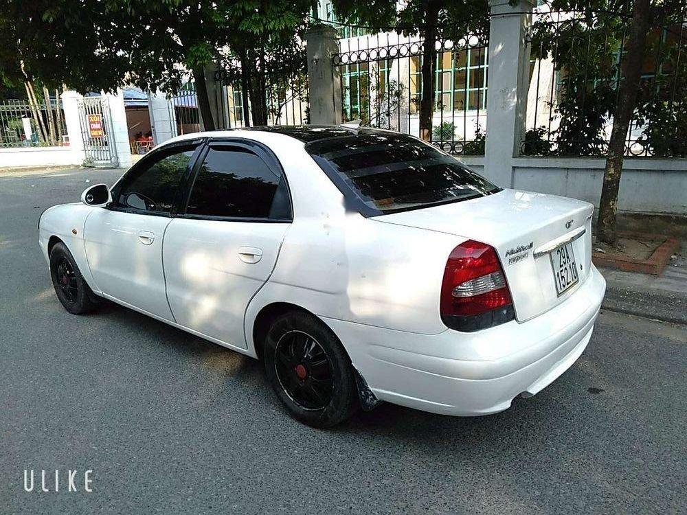 Cần bán Daewoo Nubira đời 2003, màu trắng, giá cạnh tranh (3)