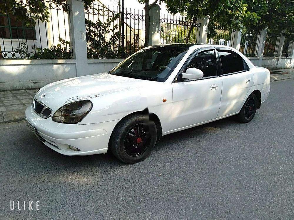 Cần bán Daewoo Nubira đời 2003, màu trắng, giá cạnh tranh (6)
