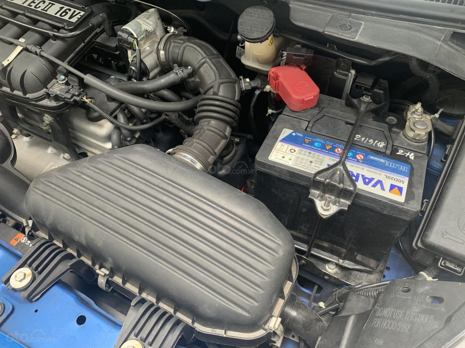 Cần bán Chevrolet Spark Spark LTZ số tự động bản đặc biệt 4 túi khí 2014, màu xanh lam (13)