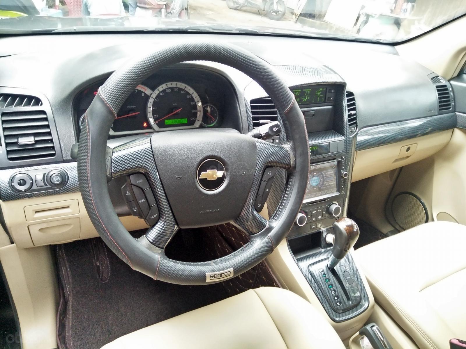 Bán ô tô Chevrolet Captiva LZT năm sản xuất 2008, màu đen (5)