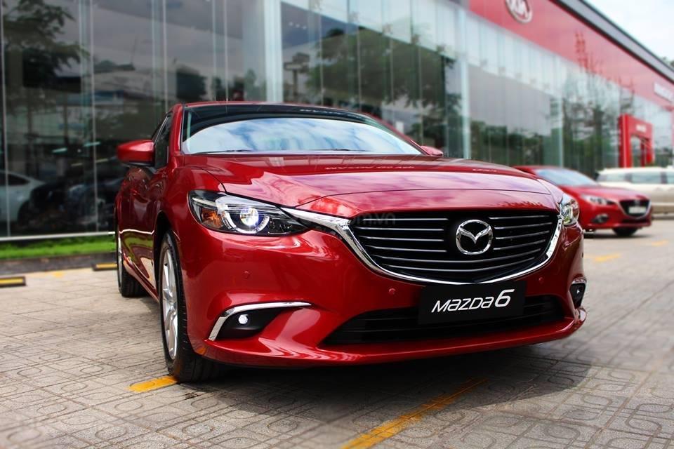 Bán Mazda 6 Luxury màu đỏ, giá tốt (1)