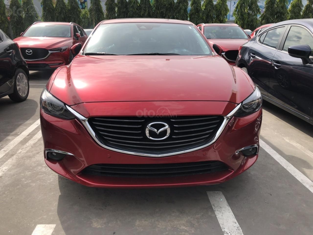 Bán Mazda 6 Luxury màu đỏ, giá tốt (2)