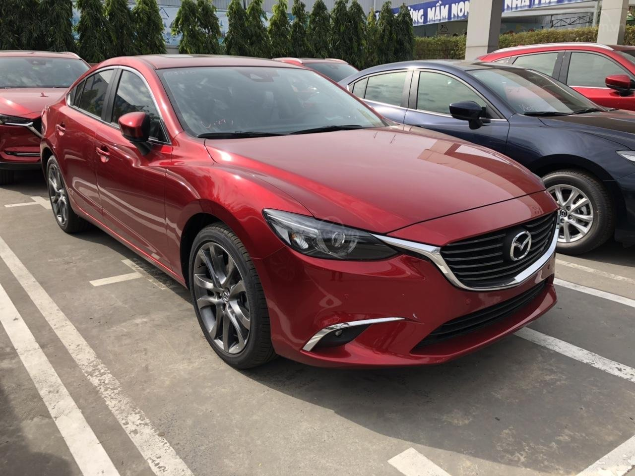 Bán Mazda 6 Luxury màu đỏ, giá tốt (4)
