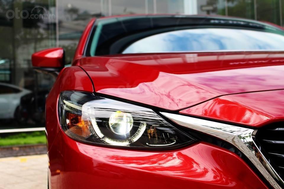 Bán Mazda 6 Luxury màu đỏ, giá tốt (3)