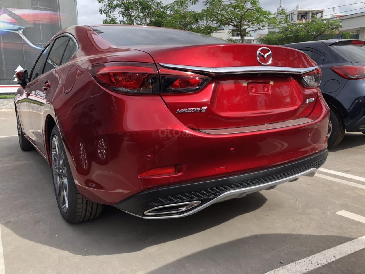 Bán Mazda 6 Luxury màu đỏ, giá tốt (6)