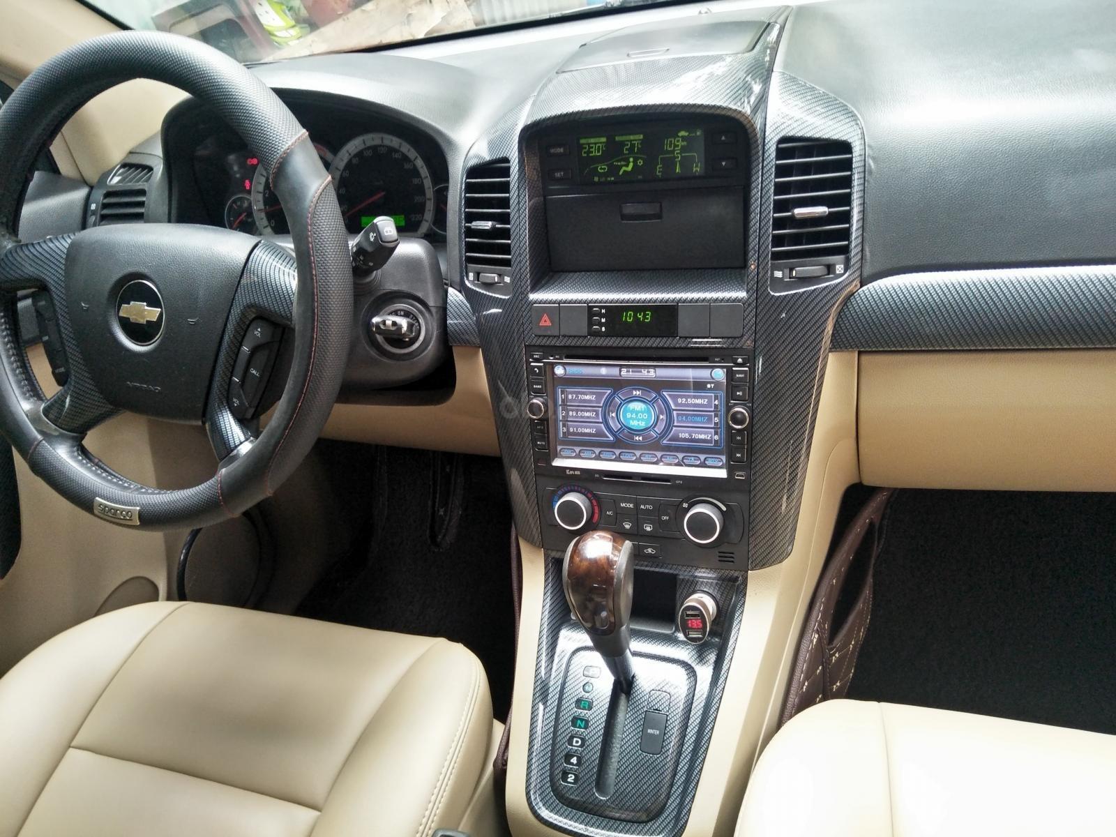 Bán ô tô Chevrolet Captiva LZT năm sản xuất 2008, màu đen (9)