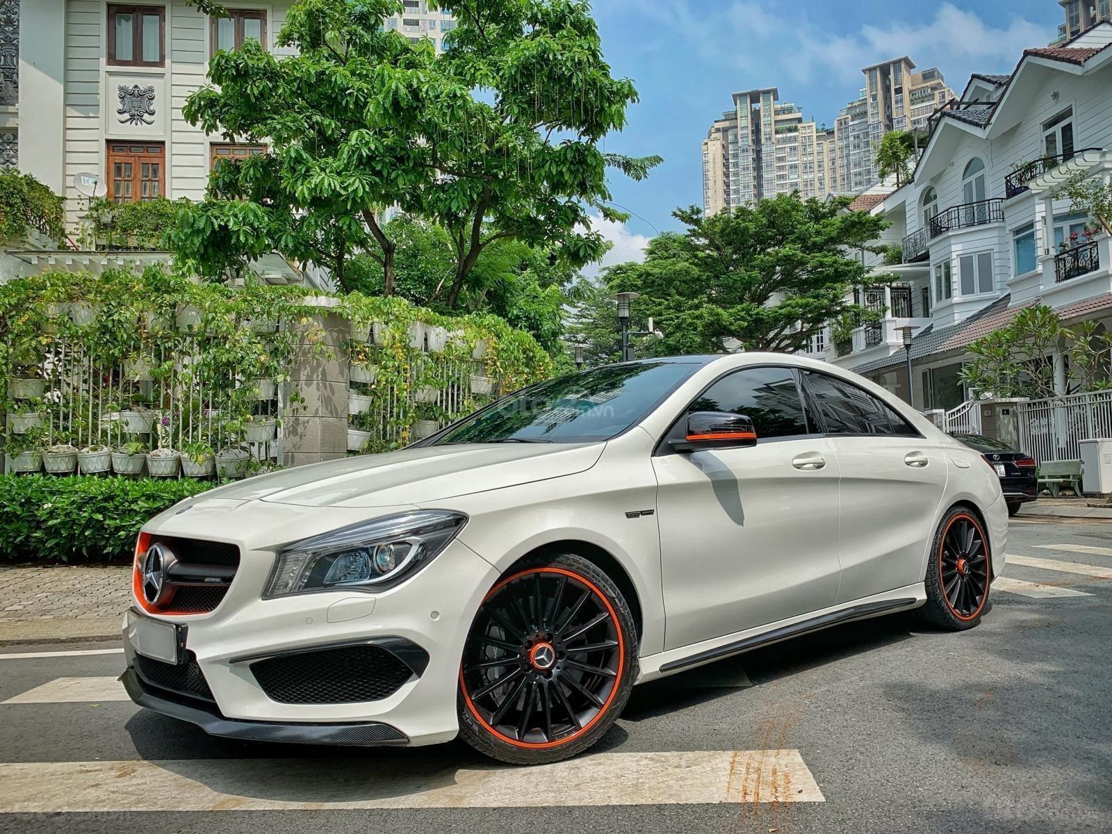 Bán xe Mercedes CLA 45AMG Orange Art đời 2016 full option, giá chỉ 1 tỷ 65 (4)