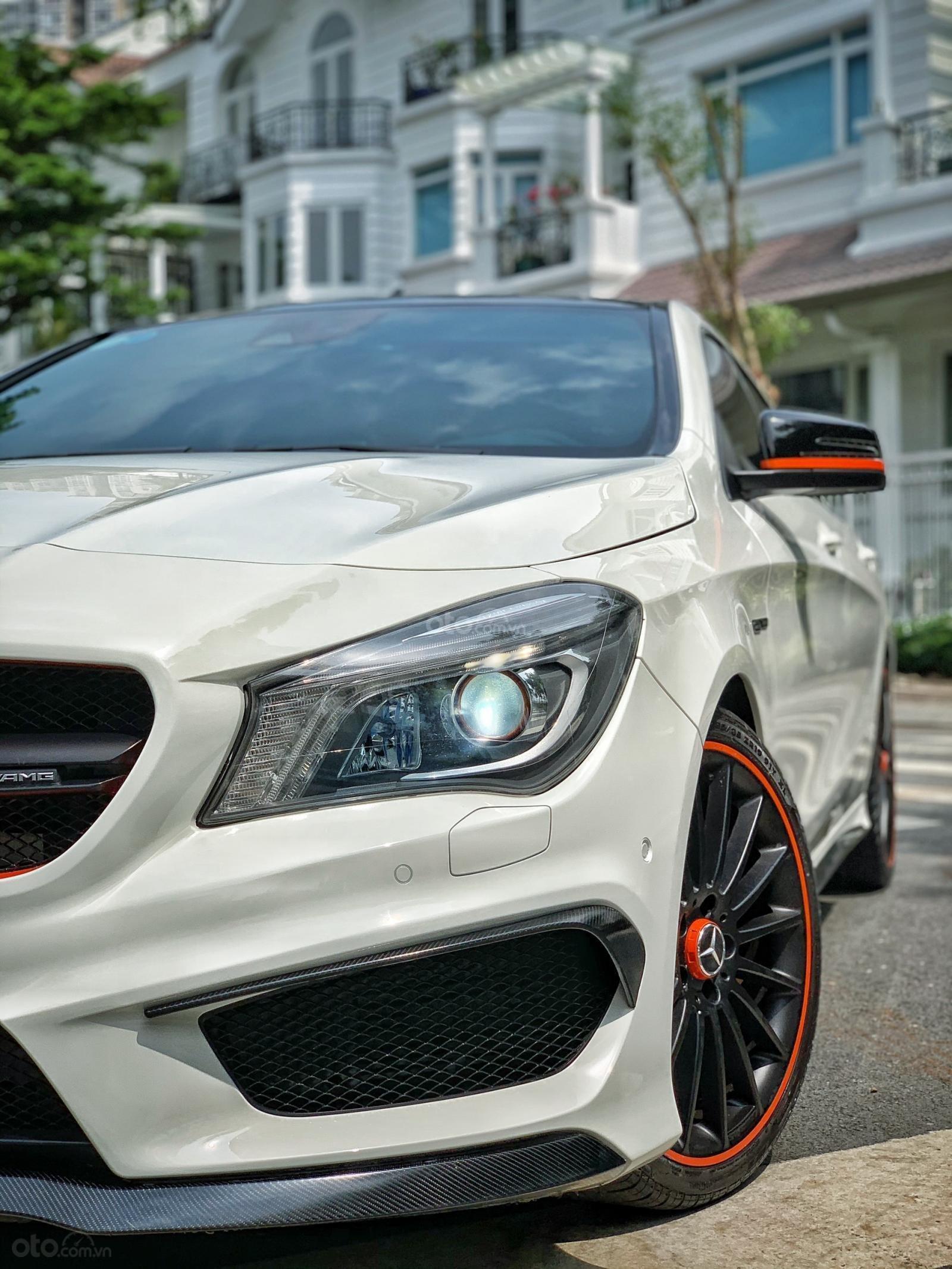 Bán xe Mercedes CLA 45AMG Orange Art đời 2016 full option, giá chỉ 1 tỷ 65 (7)