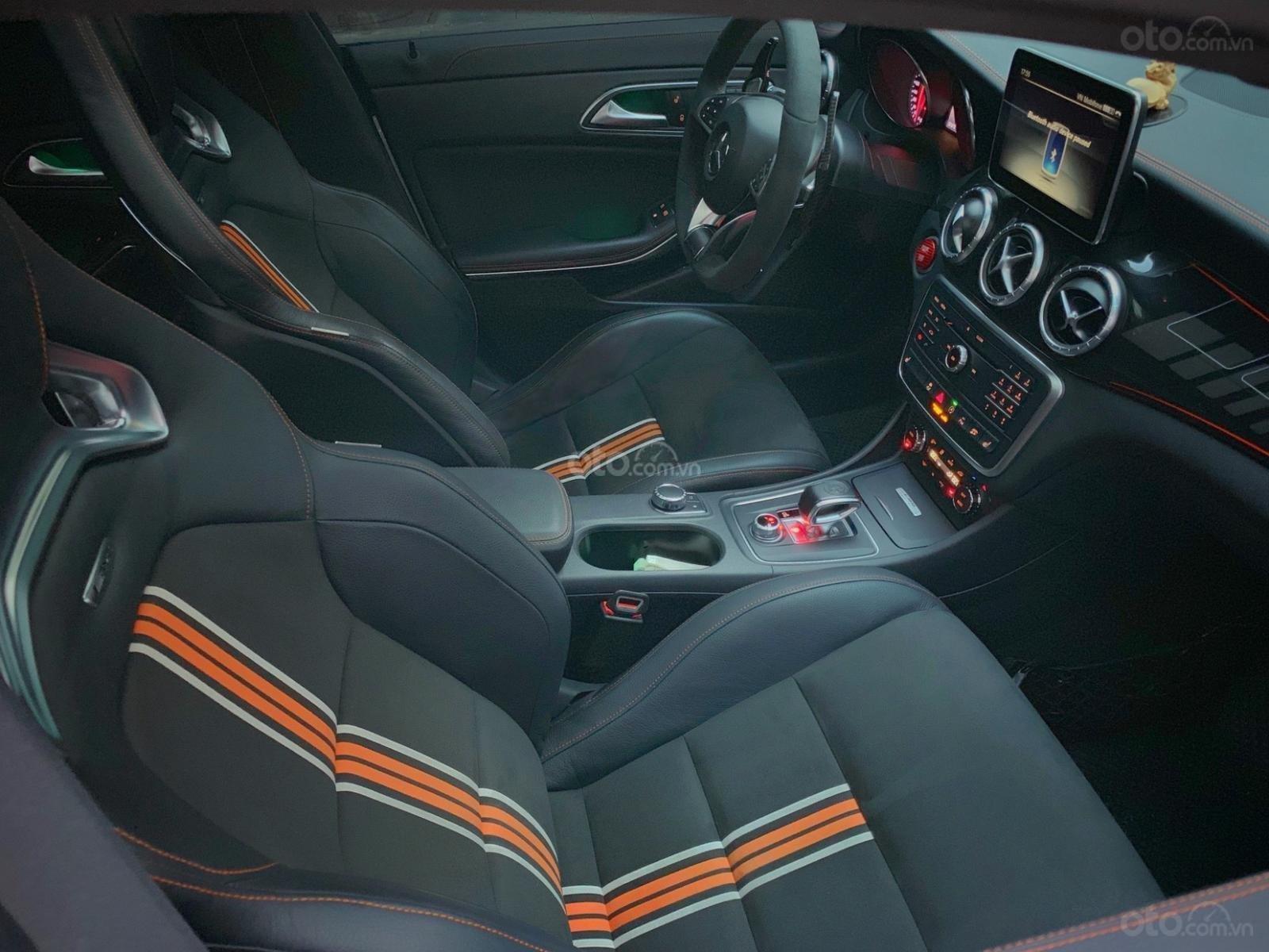 Bán xe Mercedes CLA 45AMG Orange Art đời 2016 full option, giá chỉ 1 tỷ 65 (14)