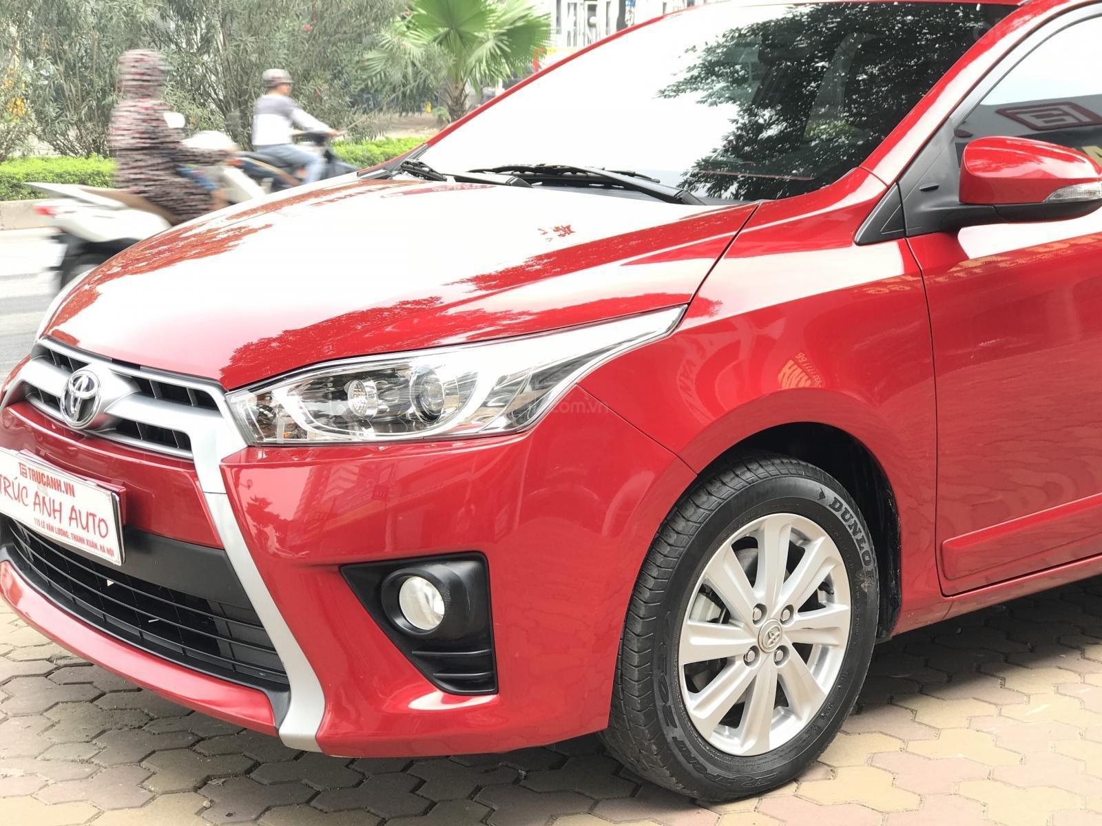 Cần bán Toyota Yaris 1.5 G sản xuất 2017, màu đỏ, xe nhập (6)