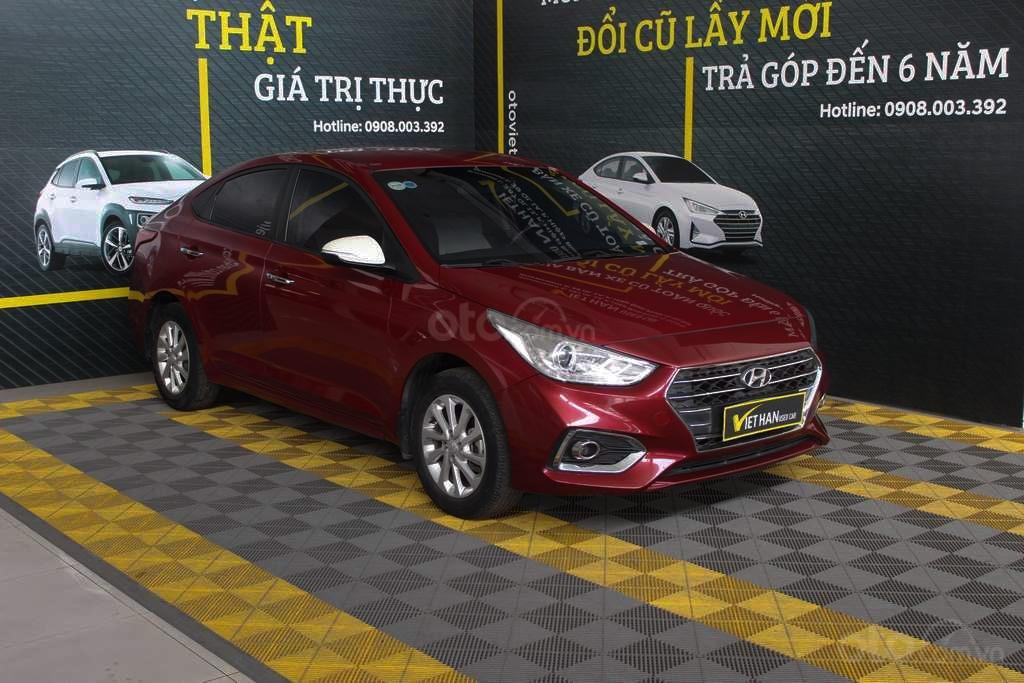 Hyundai Accent 1.4AT 2018, xe màu đỏ siêu đẹp, có kiểm định chất lượng (2)