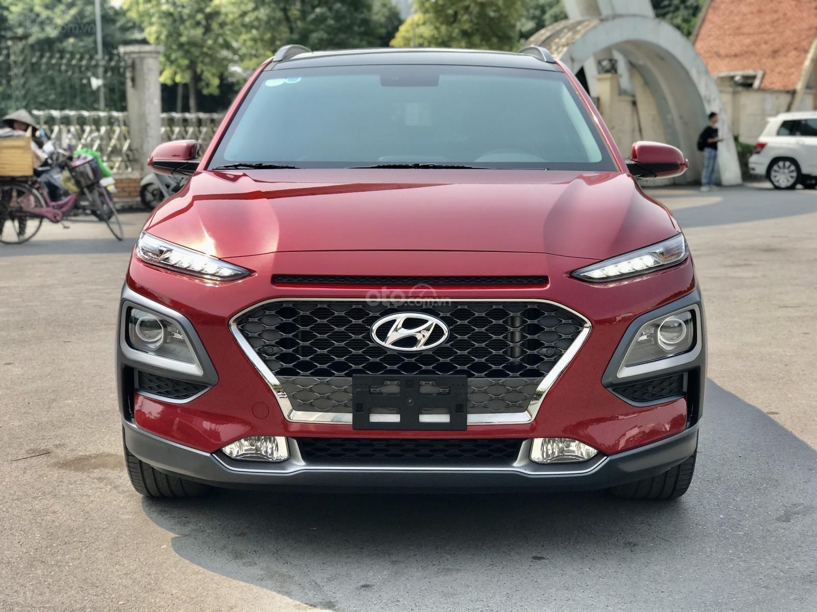 Cần bán xe Hyundai Kona đời 2019, màu đỏ, giá tốt (1)