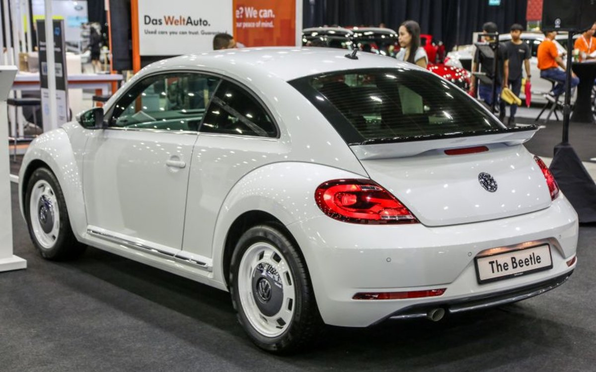 Volkswagen Beetle Retro edition số lượng có hạn