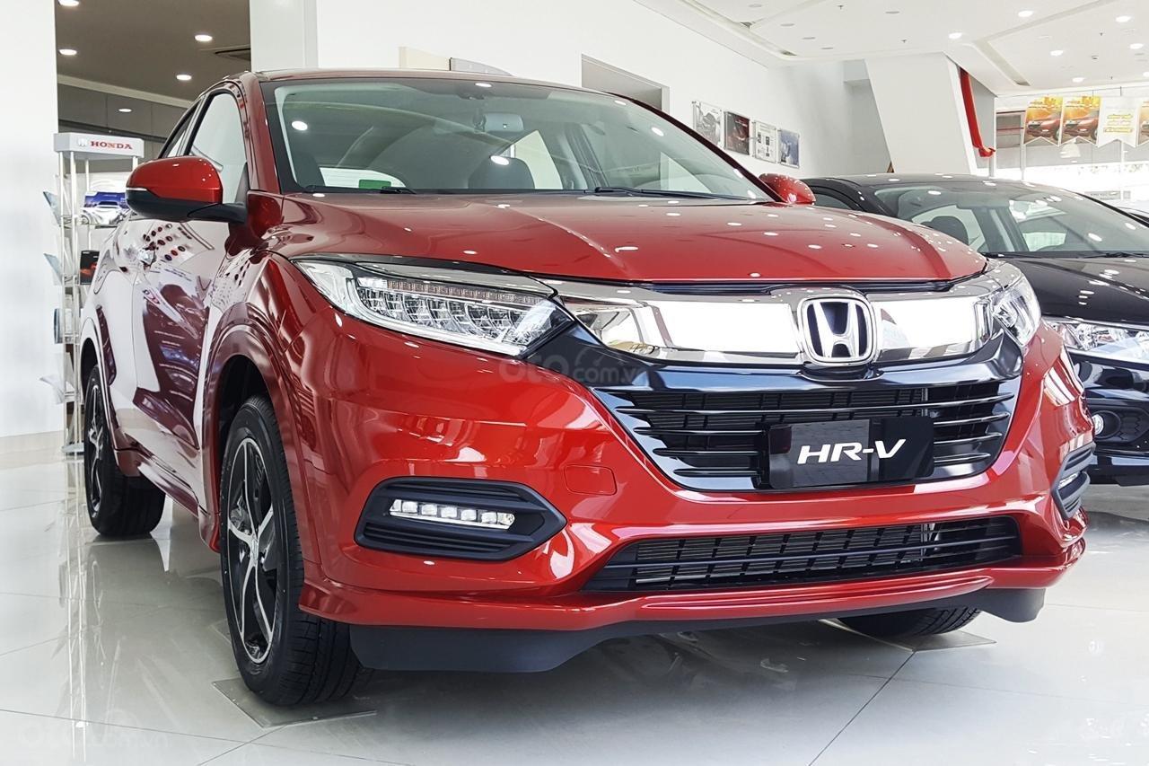 Honda HR-V 2019 màu đỏ 1