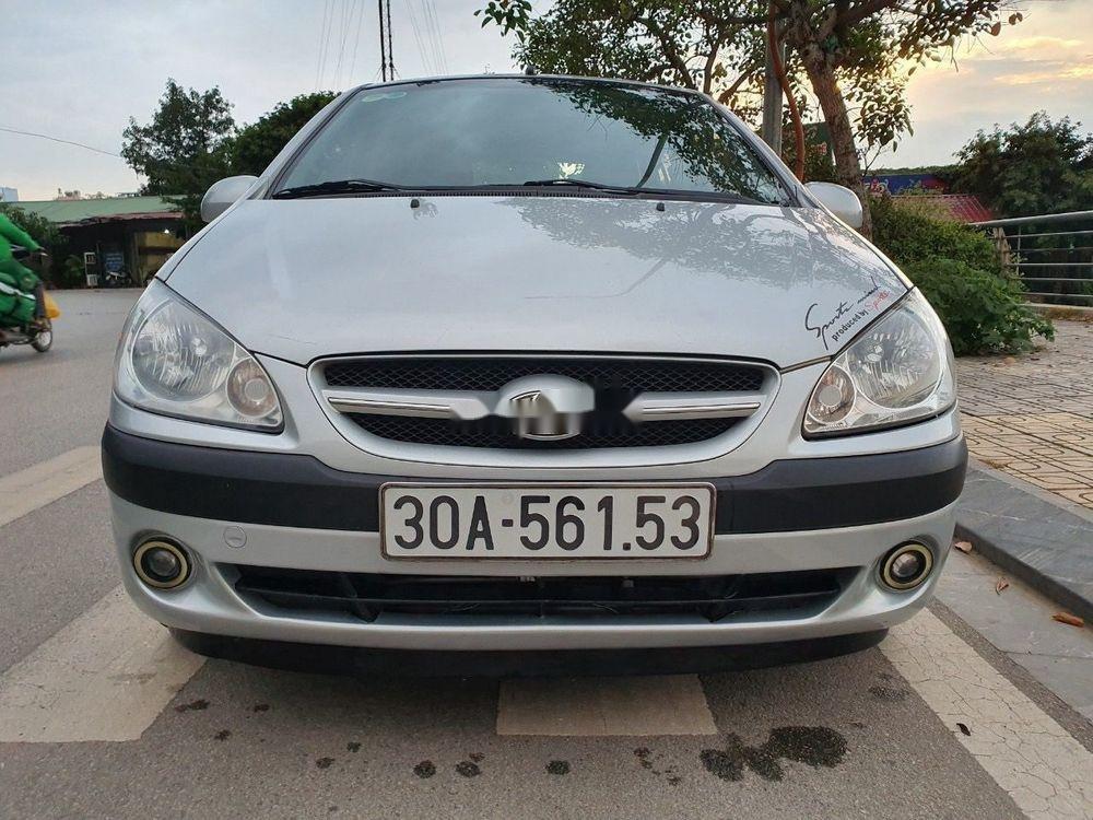 Bán Hyundai Click năm sản xuất 2008, màu bạc, nhập khẩu Hàn Quốc   (1)