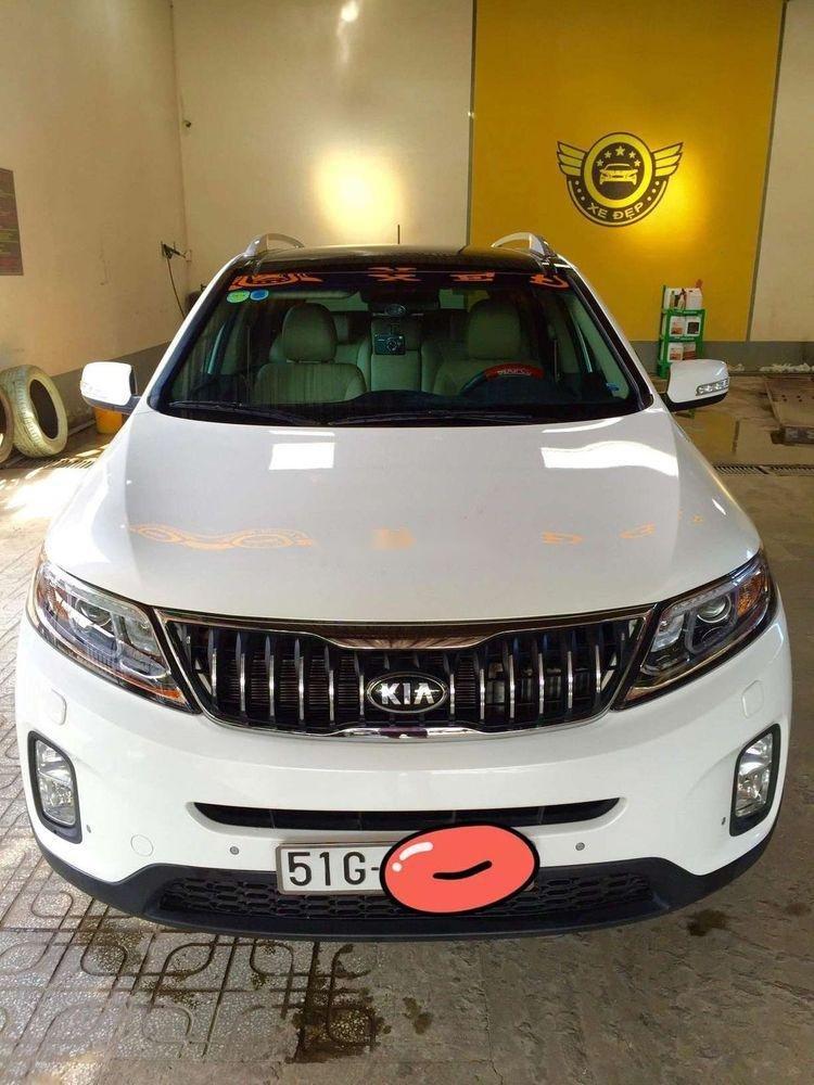 Bán Kia Sorento 2017, màu trắng, xe nhập, xe gia đình (1)