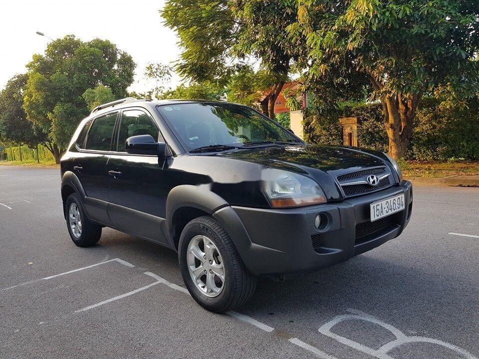 Bán Hyundai Tucson sản xuất năm 2009, màu đen, nhập khẩu Hàn Quốc   (1)