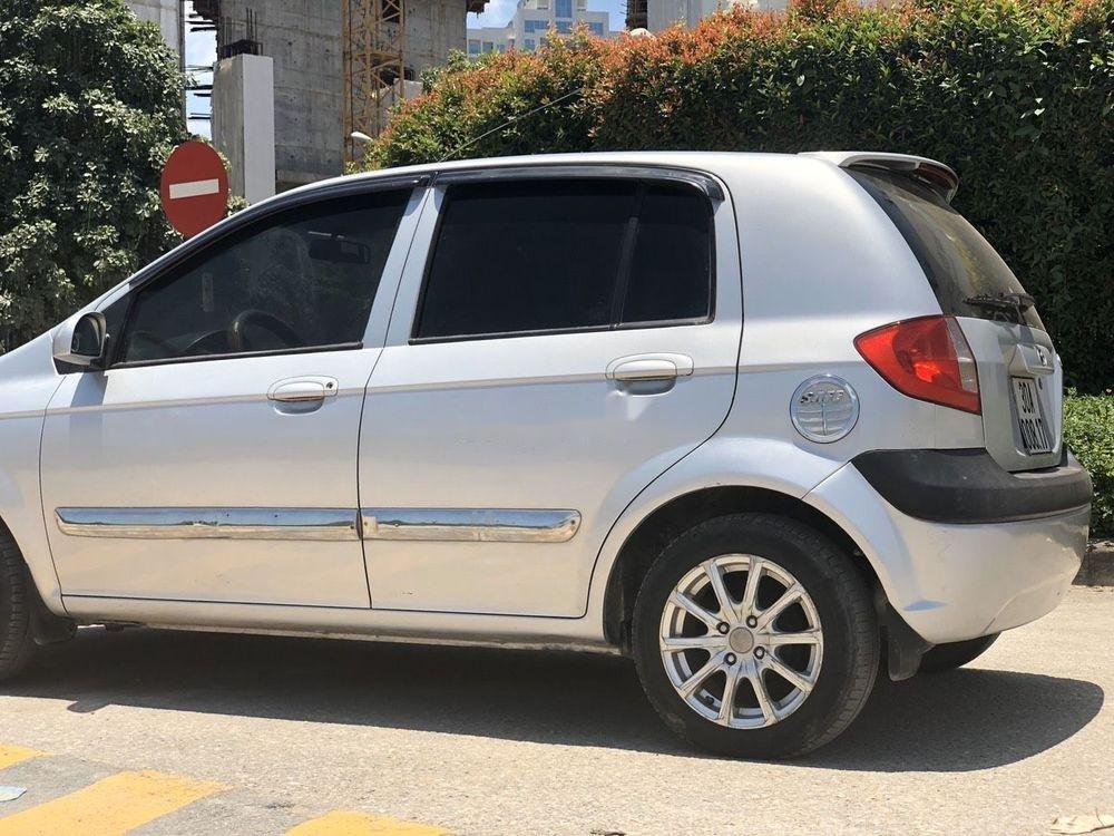 Bán Hyundai Getz năm sản xuất 2009, màu bạc, nhập khẩu, chính chủ (2)