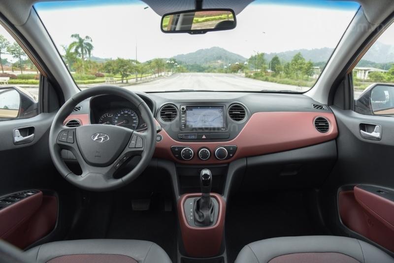Cần bán xe Hyundai Grand i10 Sedan 2019, trả góp, giá tốt, giá cạnh tranh, giao ngay, khuyến mãi 25tr (4)