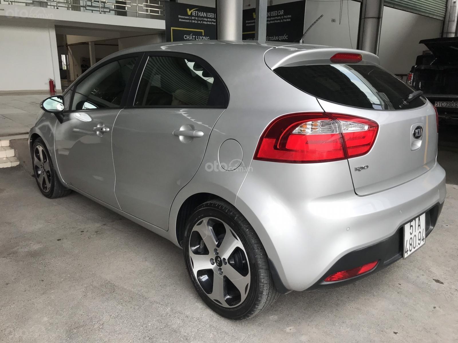 Bán xe Kia Rio năm sản xuất 2012, màu bạc, nhập khẩu, giá tốt (4)