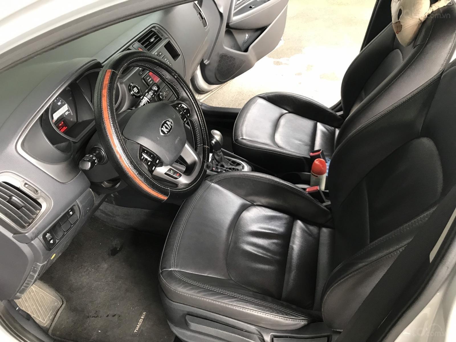 Bán xe Kia Rio năm sản xuất 2012, màu bạc, nhập khẩu, giá tốt (8)