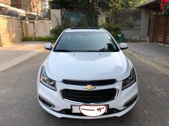 Bán gấp Chevrolet Cruze LTZ 1.8 2018 màu trắng, biển SG (1)
