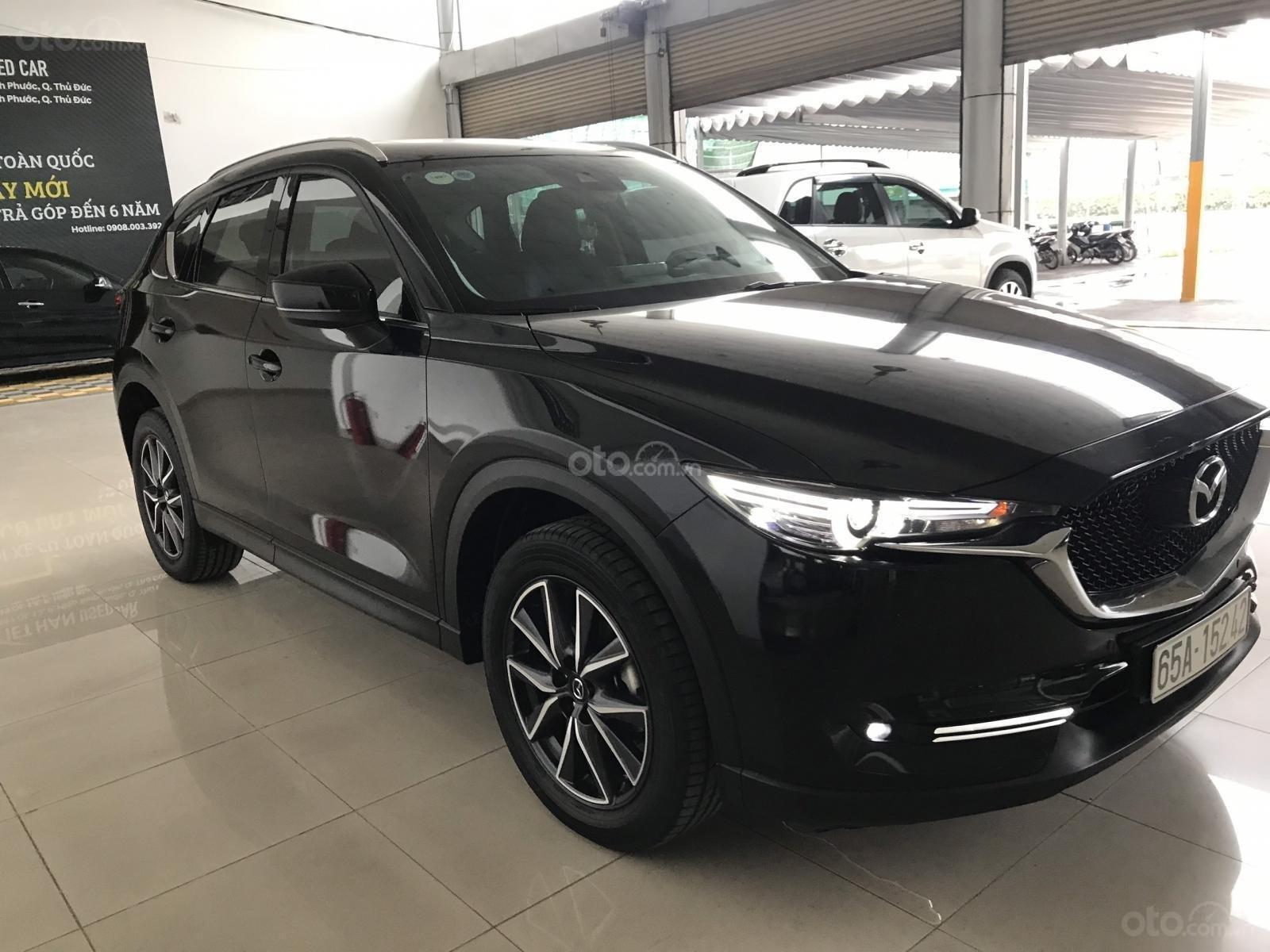 Bán xe Mazda CX5 2.5AT đời 2018, màu đen, mới 99% (1)