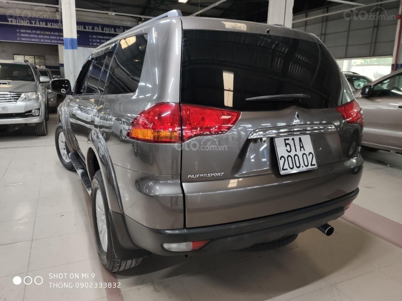 Bán xe Mitsubishi Pajero Sport đời 2011, màu nâu, xe nhập (4)