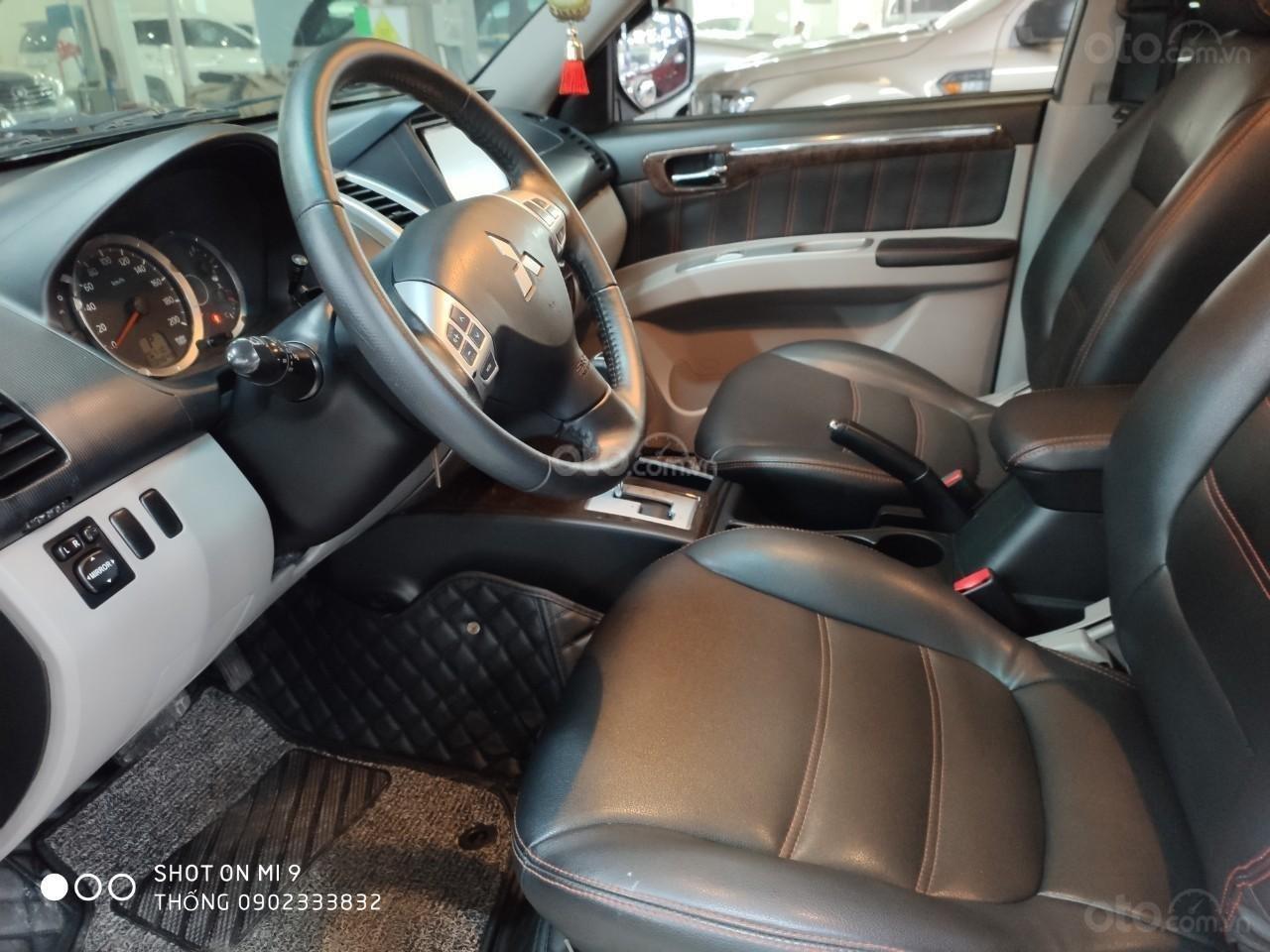 Bán xe Mitsubishi Pajero Sport đời 2011, màu nâu, xe nhập (7)