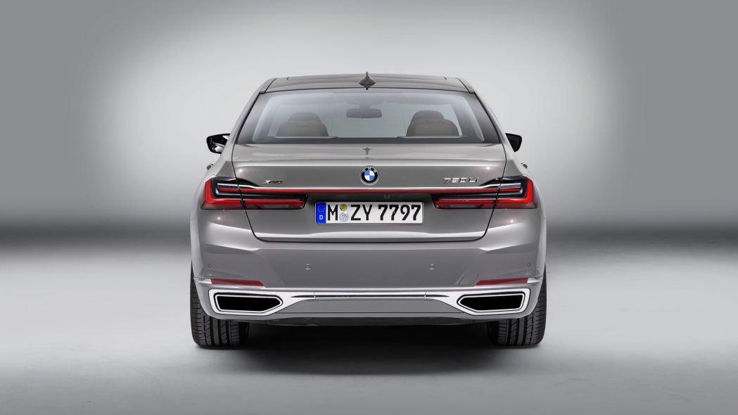 Đánh giá xe BMW 7-Series 2020 về đuôi xe.