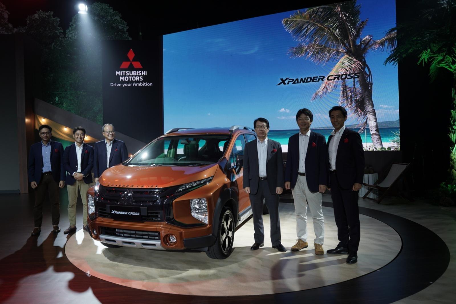 Mitsubishi Xpander Cross 2020 tại buổi lễ ra mắt chính thức.